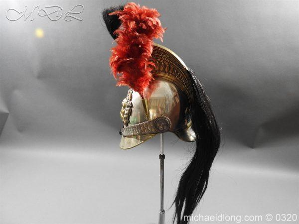 michaeldlong.com 7396 600x450 Belgium Cuirassiers 1845 Helmet
