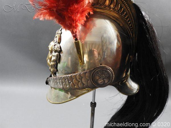 michaeldlong.com 7397 600x450 Belgium Cuirassiers 1845 Helmet