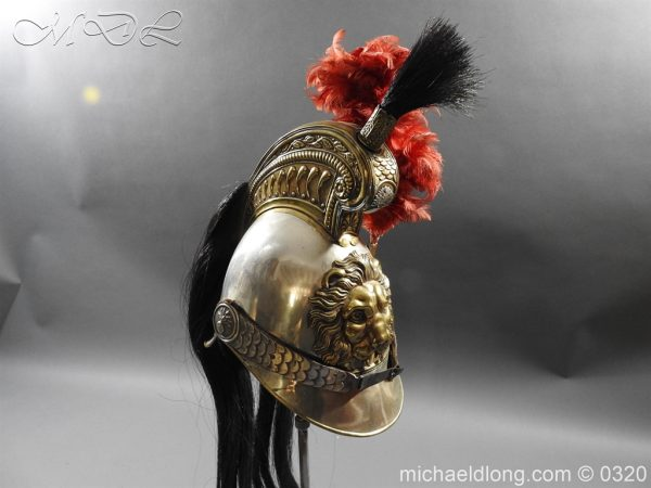 michaeldlong.com 7399 600x450 Belgium Cuirassiers 1845 Helmet