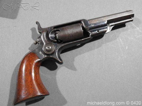 michaeldlong.com 7476 600x450 Colt Model 2 Cased Roots Revolver