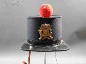 Victorian 36 Regiment Light Infantry Shako