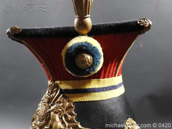 michaeldlong.com 7597 600x450 Victorian 12th Prince Of Wales Lancer's N C O' S Lance Cap