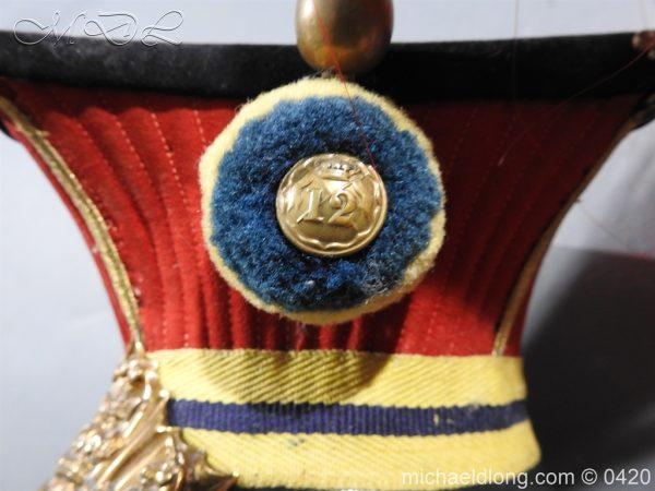 michaeldlong.com 7598 600x450 Victorian 12th Prince Of Wales Lancer's N C O' S Lance Cap
