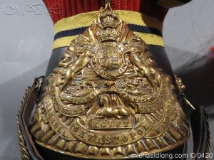 michaeldlong.com 7599 300x225 Victorian 12th Prince Of Wales Lancer's N C O' S Lance Cap