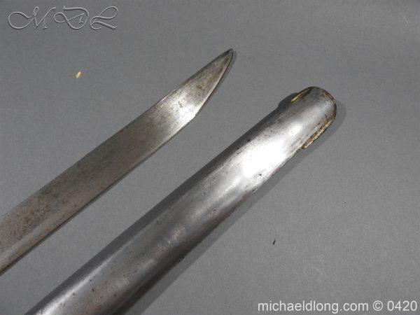 michaeldlong.com 7605 600x450 British 1788 1796 Heavy Cavalry sword