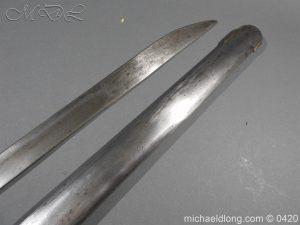 michaeldlong.com 7609 300x225 British 1788 1796 Heavy Cavalry sword
