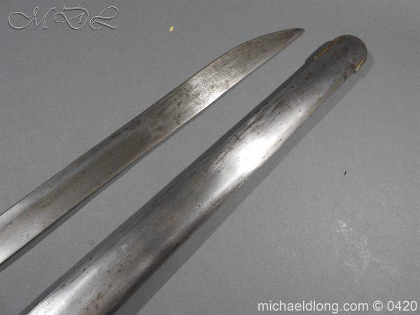 michaeldlong.com 7609 600x450 British 1788 1796 Heavy Cavalry sword