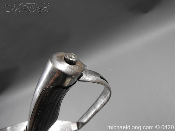 michaeldlong.com 7618 600x450 British 1788 1796 Heavy Cavalry sword