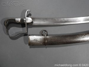 michaeldlong.com 7622 300x225 British 1796 Light Cavalry Sword by Reddell & Bate