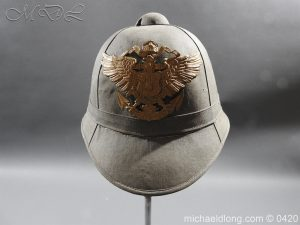 Imperial German Naval Tropical Helmet