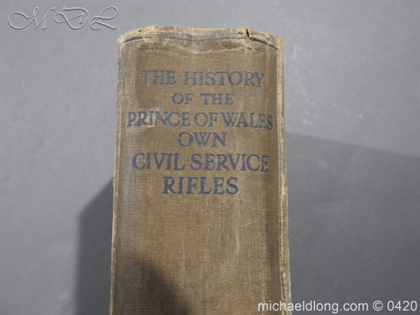 michaeldlong.com 7884 600x450 The History of the Prince of Wales Own Civil Service Rifles