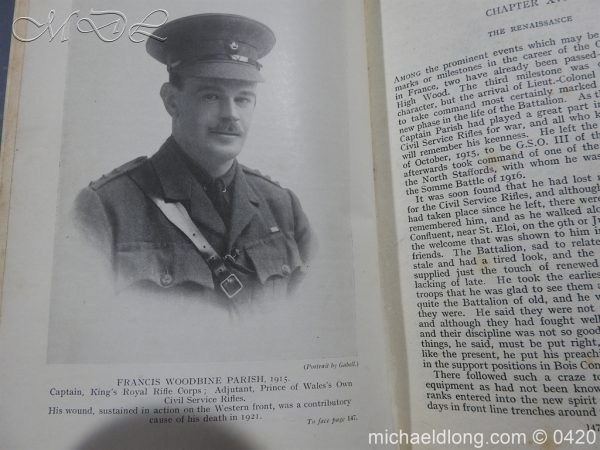 michaeldlong.com 7888 600x450 The History of the Prince of Wales Own Civil Service Rifles