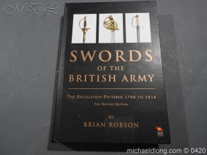 Swords of the British Army By Brian Robson