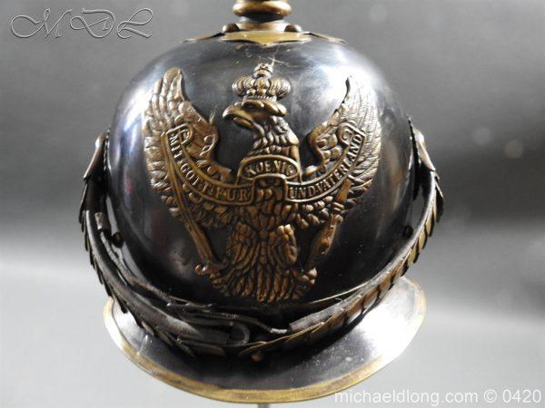 michaeldlong.com 7945 600x450 German 8th Jager zu Pferde Helmet