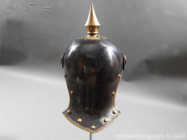 michaeldlong.com 7948 600x450 German 8th Jager zu Pferde Helmet