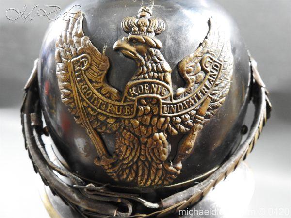 michaeldlong.com 7954 600x450 German 8th Jager zu Pferde Helmet
