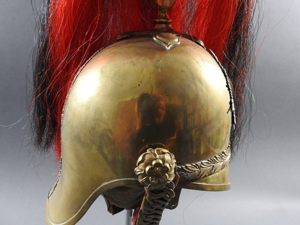 DSCN7720 600x450 British 3rd Dragoon Guards Troopers Helmet