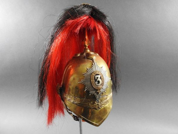 DSCN7729 600x450 British 3rd Dragoon Guards Troopers Helmet