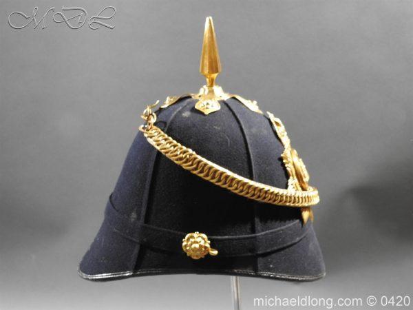 michaeldlong.com 7979 600x450 Devonshire Blue Cloth Helmet