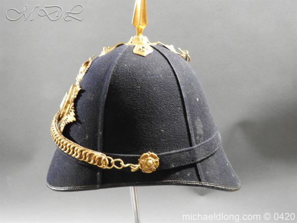 michaeldlong.com 7984 600x450 Devonshire Blue Cloth Helmet
