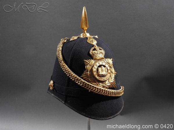 michaeldlong.com 7987 600x450 Devonshire Blue Cloth Helmet