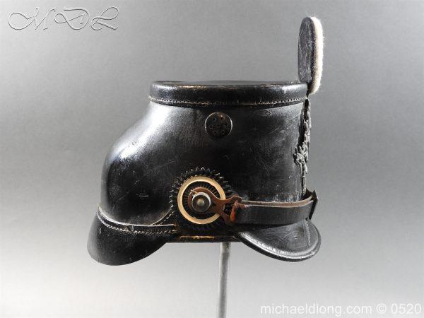 michaeldlong.com 8181 600x450 Prussian Infantry Shako Dated 1910