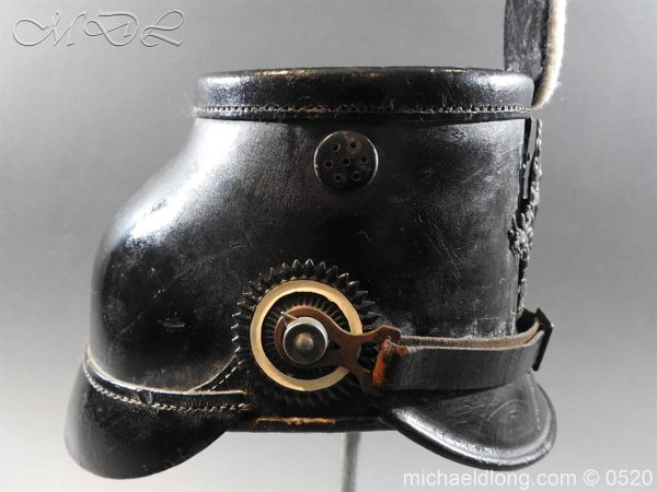 michaeldlong.com 8182 600x450 Prussian Infantry Shako Dated 1910