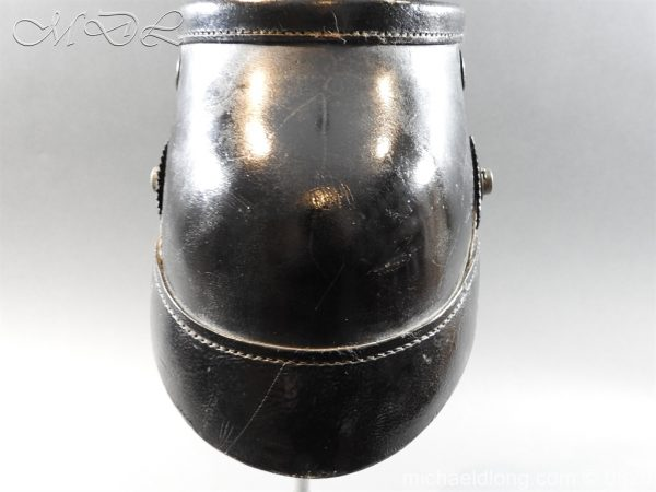 michaeldlong.com 8184 600x450 Prussian Infantry Shako Dated 1910