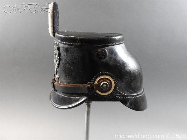 michaeldlong.com 8185 600x450 Prussian Infantry Shako Dated 1910