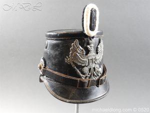 michaeldlong.com 8191 300x225 Prussian Infantry Shako Dated 1910