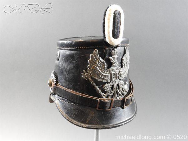 michaeldlong.com 8191 600x450 Prussian Infantry Shako Dated 1910