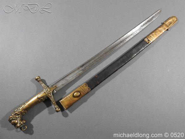 michaeldlong.com 8292 600x450 Duke of Wellingtons 33rd Regiment of Foot Band Sword circa 1800 33