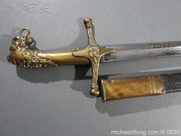 michaeldlong.com 8297 600x450 Duke of Wellingtons 33rd Regiment of Foot Band Sword circa 1800 33