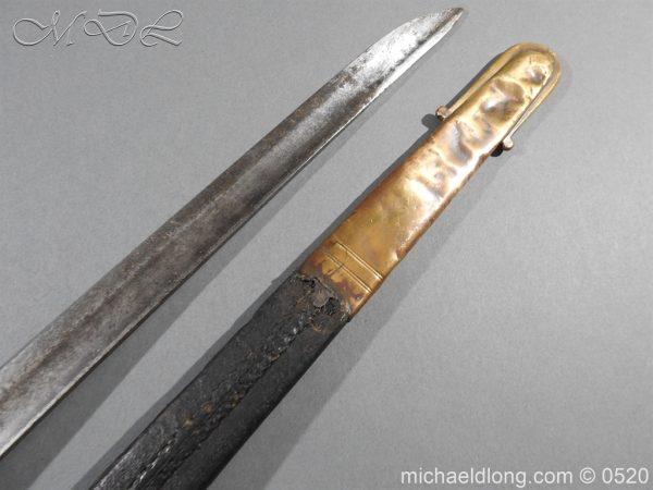michaeldlong.com 8299 600x450 Duke of Wellingtons 33rd Regiment of Foot Band Sword circa 1800 33
