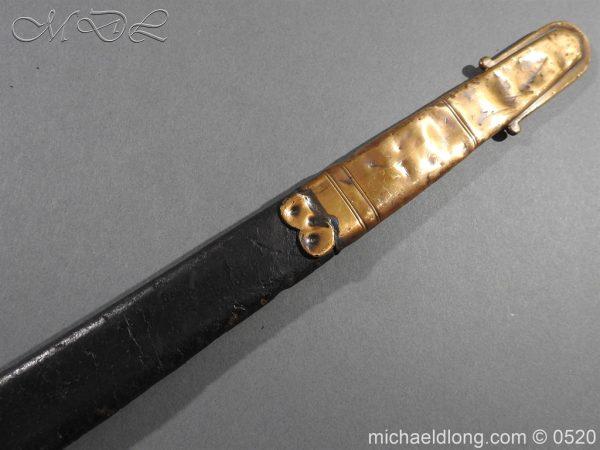 michaeldlong.com 8301 600x450 Duke of Wellingtons 33rd Regiment of Foot Band Sword circa 1800 33