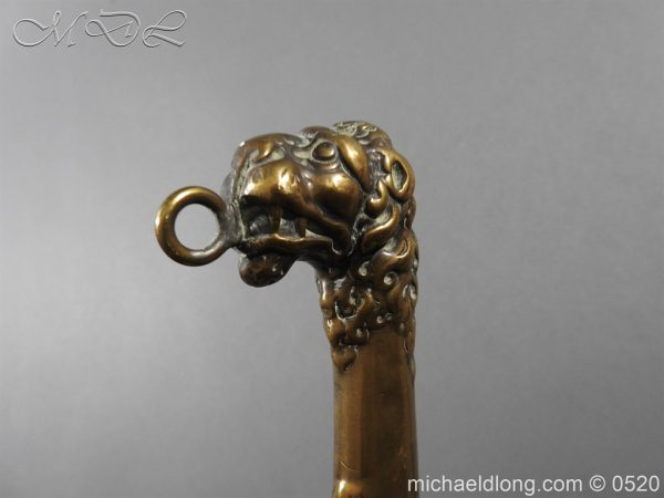 michaeldlong.com 8308 600x450 Duke of Wellingtons 33rd Regiment of Foot Band Sword circa 1800 33