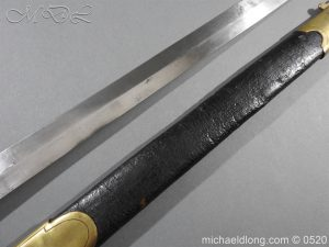 michaeldlong.com 8312 300x225 British MK1 Rifle Regiment Band Sword 1850's Pattern 37
