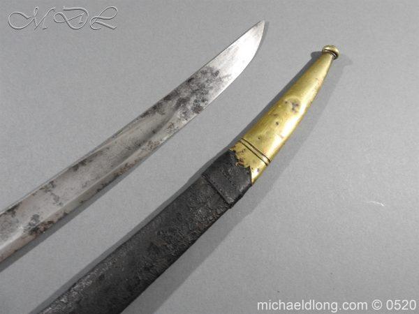 michaeldlong.com 8357 600x450 French 1821 30 Pattern Guard Nationale Infantry Sidearm 74