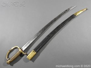 michaeldlong.com 8358 300x225 French 1821 30 Pattern Guard Nationale Infantry Sidearm 74