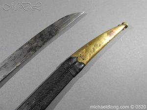 michaeldlong.com 8361 300x225 French 1821 30 Pattern Guard Nationale Infantry Sidearm 74