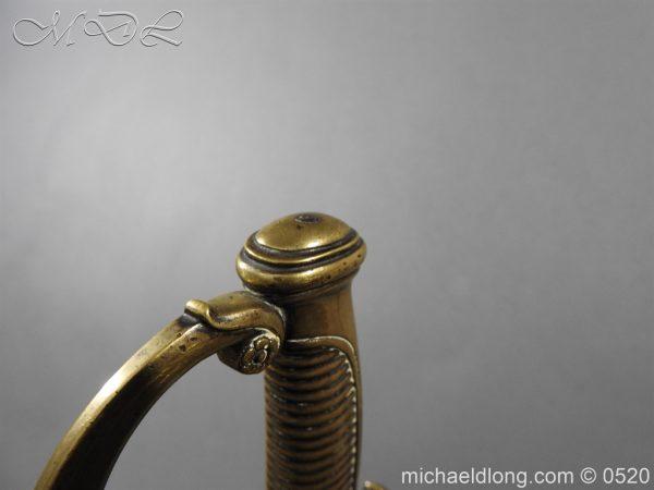 michaeldlong.com 8373 600x450 French 1821 30 Pattern Guard Nationale Infantry Sidearm 74