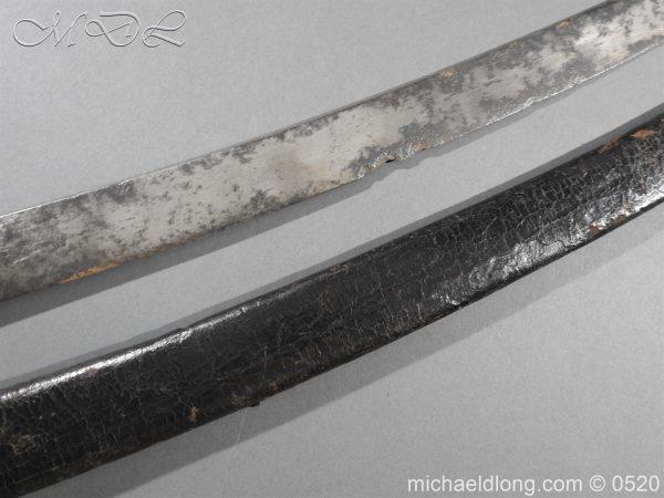 michaeldlong.com 8378 600x450 French Sabre Briquet c1816/30 87