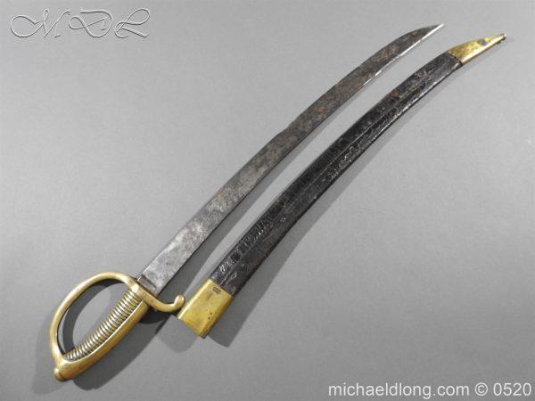 michaeldlong.com 8380 600x450 French Sabre Briquet c1816/30 87