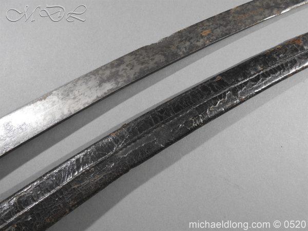 michaeldlong.com 8382 600x450 French Sabre Briquet c1816/30 87