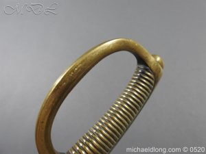 michaeldlong.com 8393 300x225 French Sabre Briquet c1816/30 87