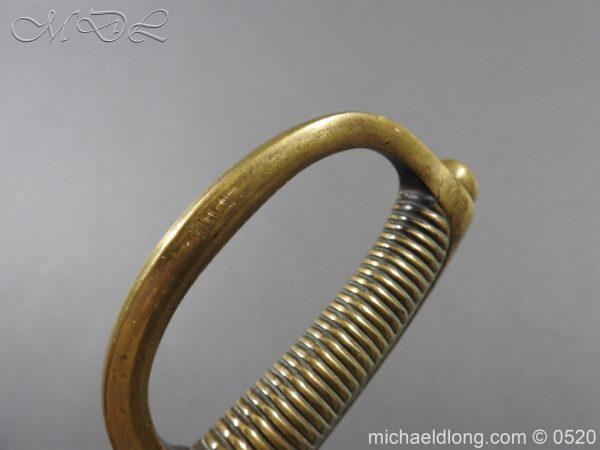 michaeldlong.com 8393 600x450 French Sabre Briquet c1816/30 87