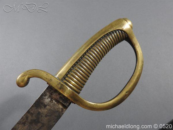 michaeldlong.com 8394 600x450 French Sabre Briquet c1816/30 87