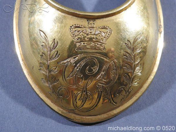 michaeldlong.com 8418 600x450 British Georgian Officer's Gorget