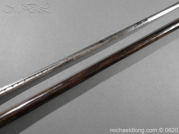 michaeldlong.com 8578 600x450 Victorian Gentlemens Sword Stick 17c Blade