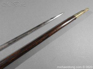 michaeldlong.com 8579 300x225 Victorian Gentlemens Sword Stick 17c Blade